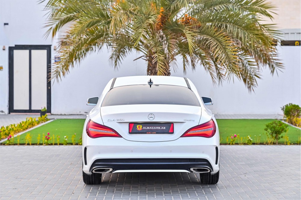 buy pre-owned Mercedes CLA250 in Dubai