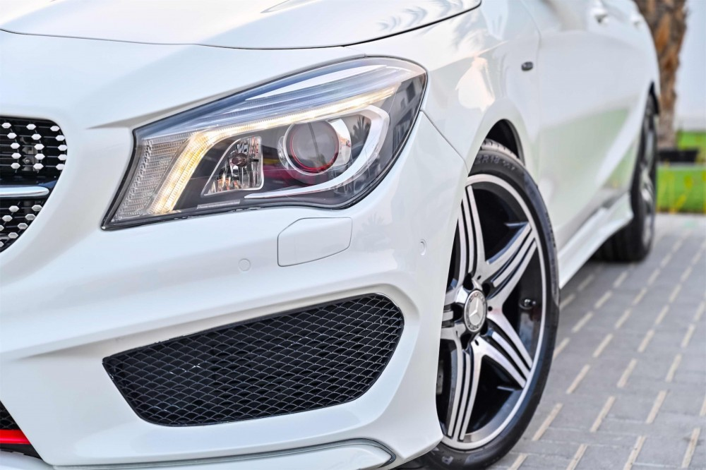 buy used Mercedes CLA250 without downpayment