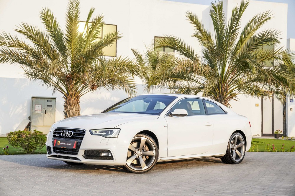 buy second hand Audi A5 S-line V6 in Dubai