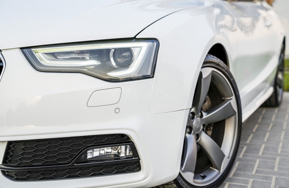 buy used Audi A5 S-line V6 in Dubai