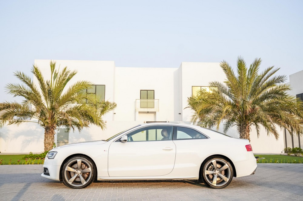 buy used Audi A5 S-line V6 in UAE
