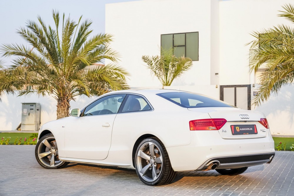 buy slightly used Audi A5 S-line V6 in UAE