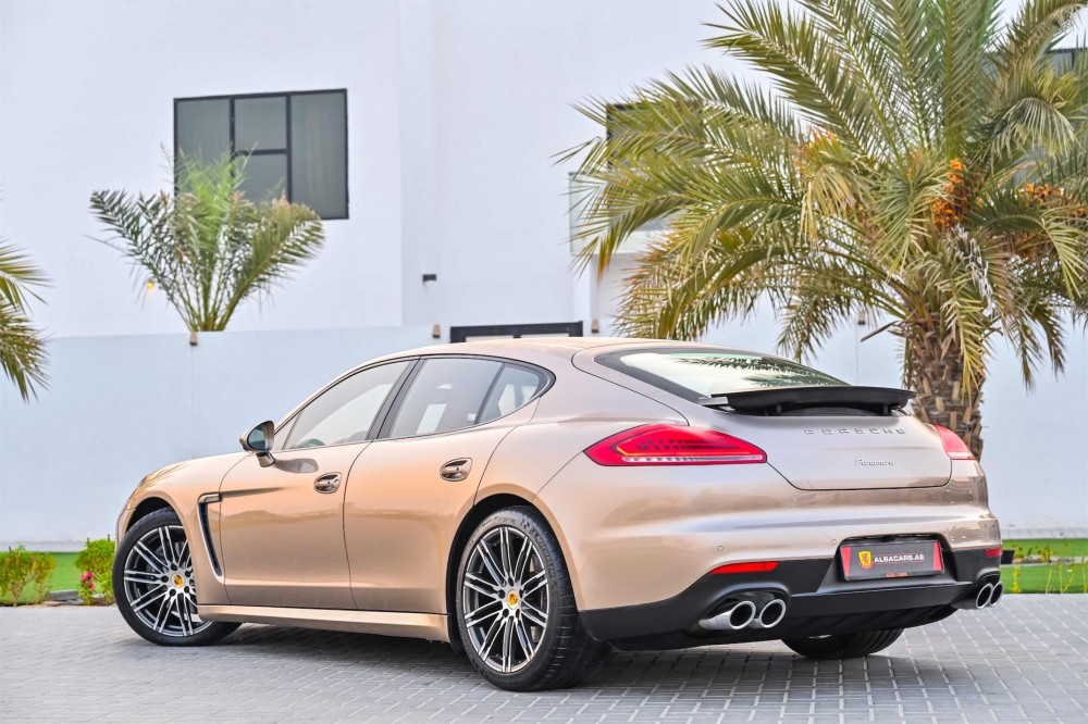 buy used Porsche Panamera with warranty