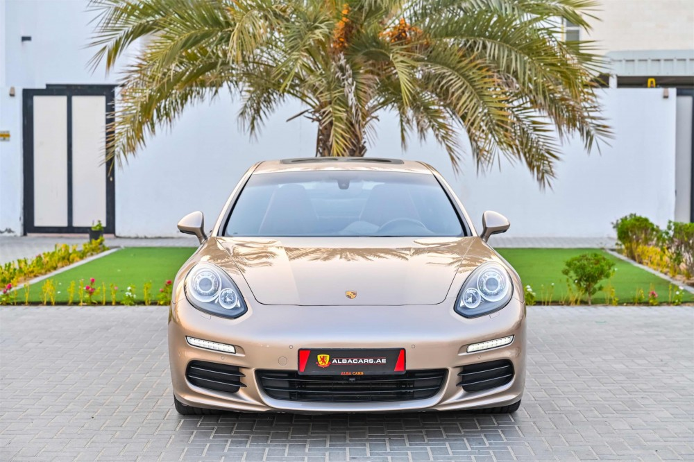 buy pre-owned Porsche Panamera with warranty