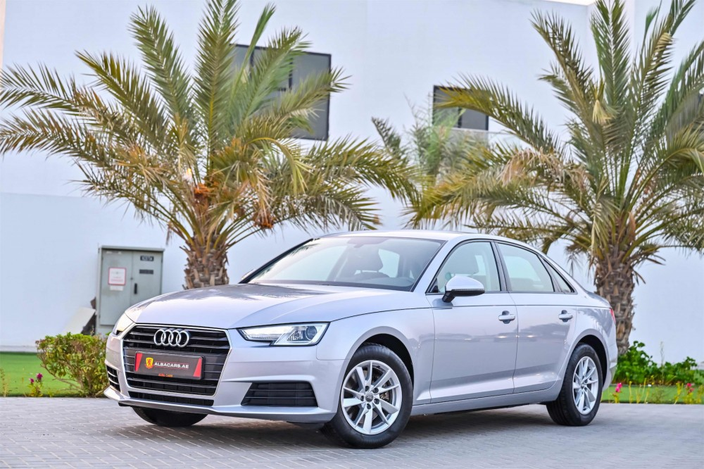 buy slightly used Audi A4 in Dubai