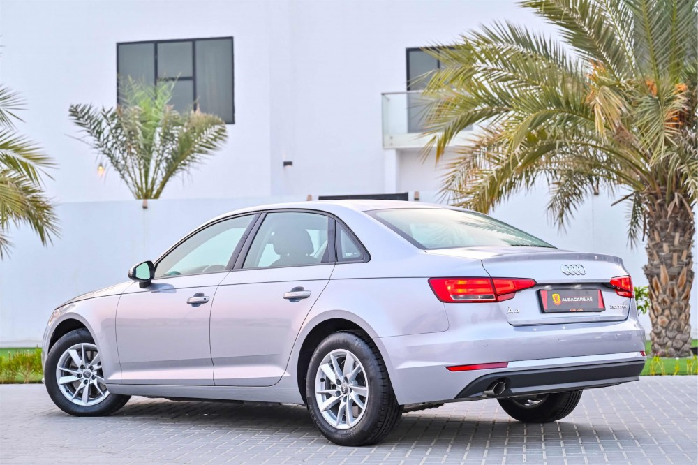 buy slightly used Audi A4 with warranty