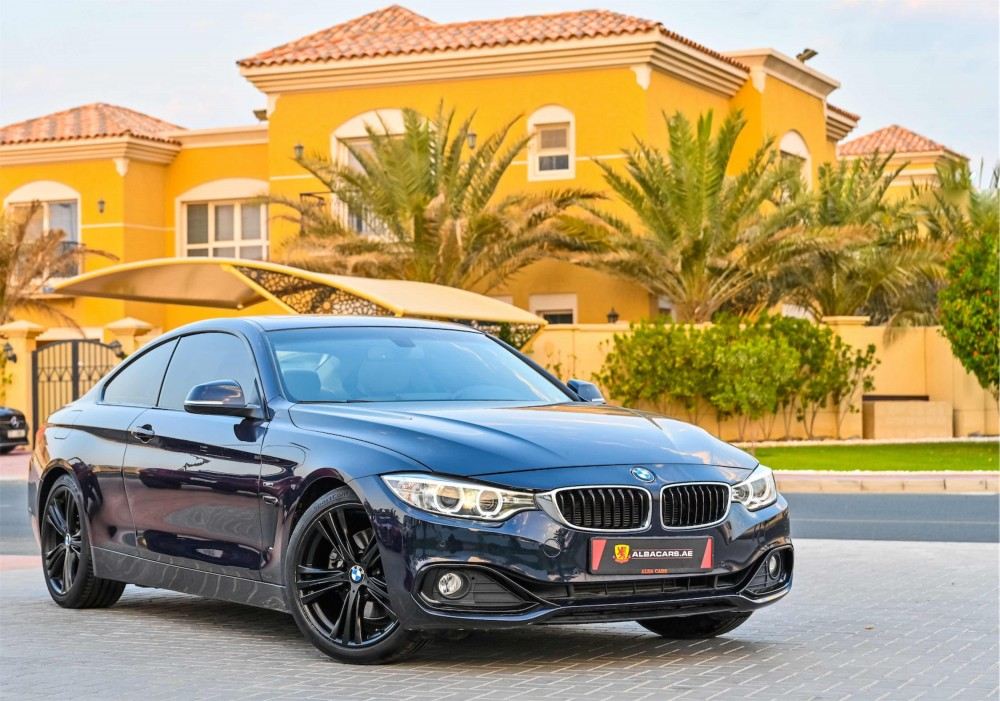 buy used BMW 428i Sport Coupe in Dubai