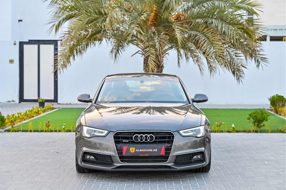 buy slightly used Audi A5 S-line with warranty