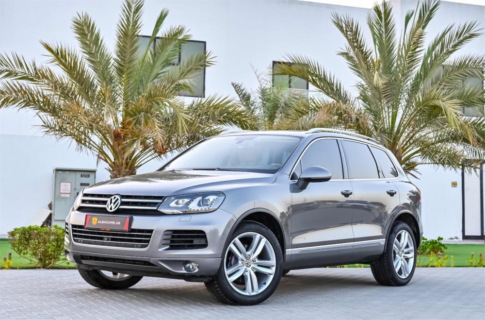 buy approved Volkswagen Touareg Sport without downpayment