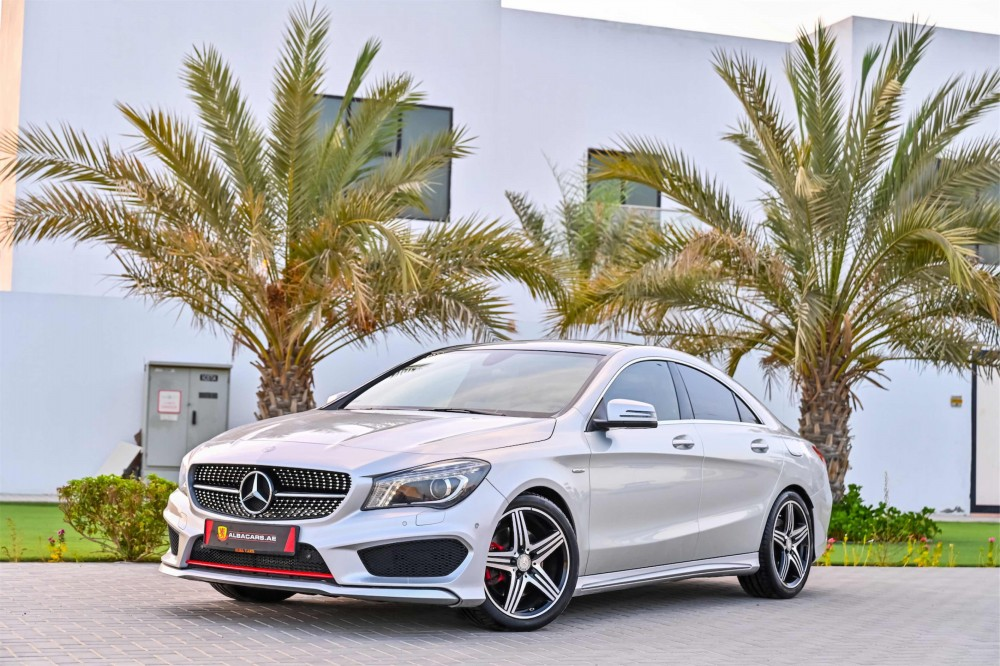 buy used Mercedes CLA250 AMG in UAE