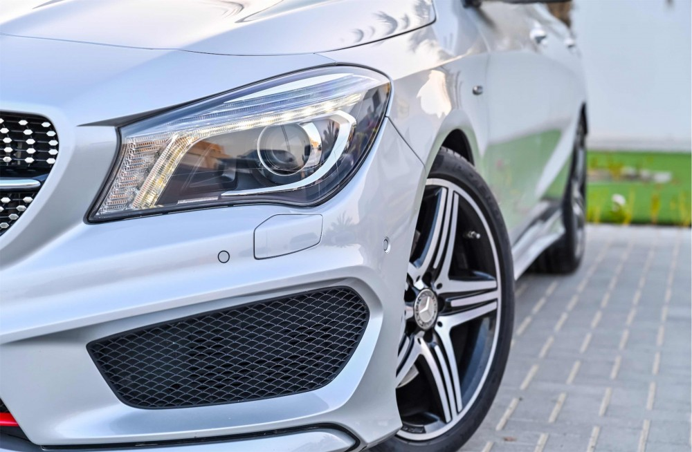 buy approved Mercedes CLA250 AMG in UAE
