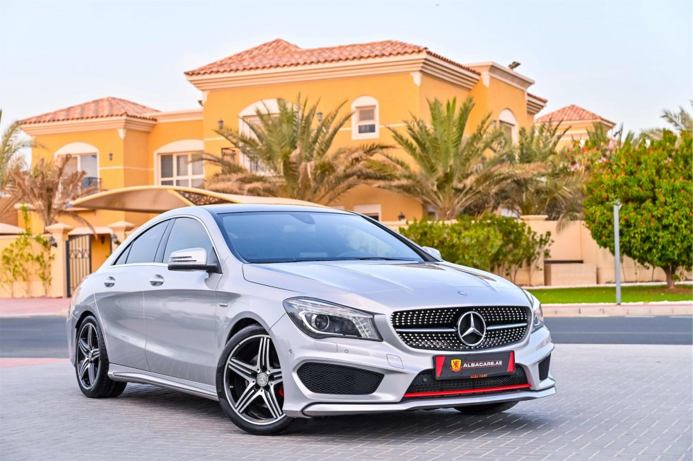 buy pre-owned Mercedes CLA250 AMG in Dubai