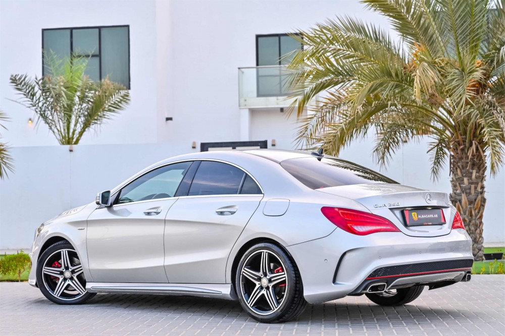 buy second hand Mercedes CLA250 AMG without downpayment