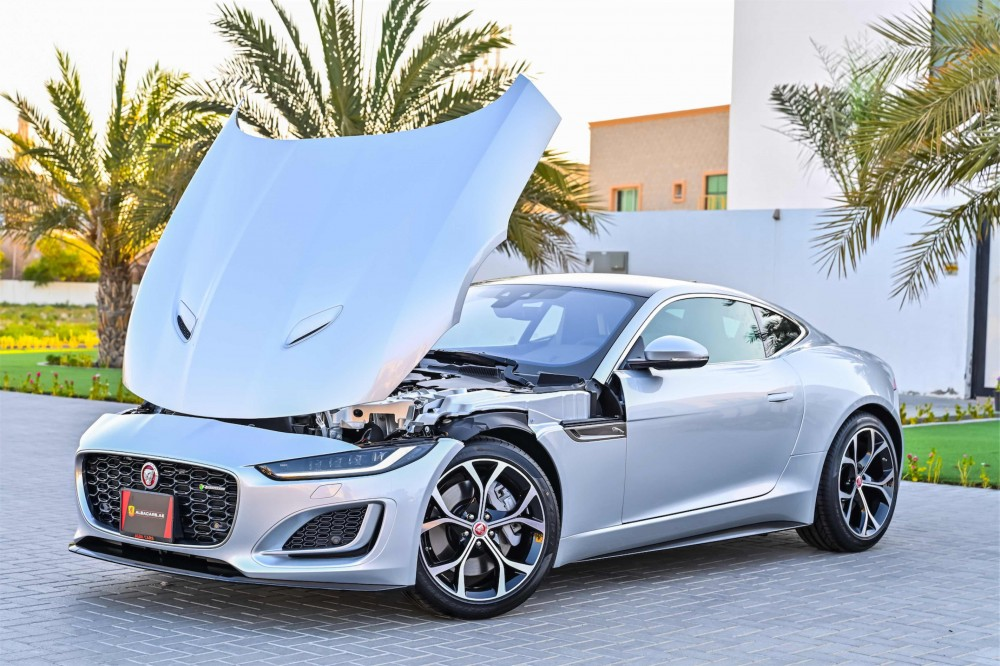 buy slightly used BRAND NEW Jaguar F-Type R-Dynamic without downpayment