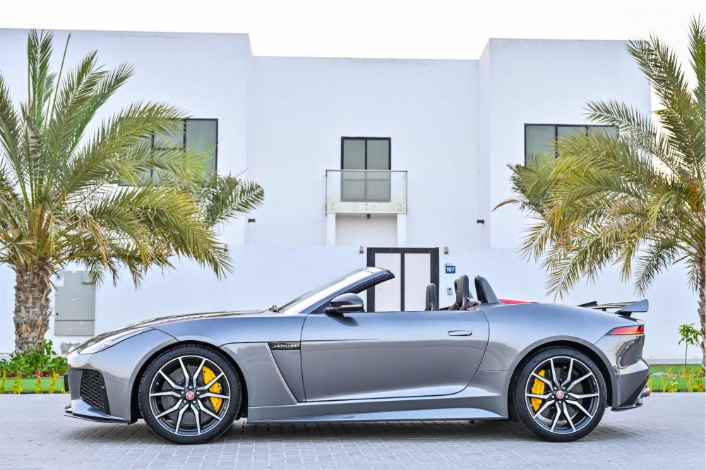 buy used BRAND NEW Jaguar F-Type SVR 5.0L V8 without downpayment