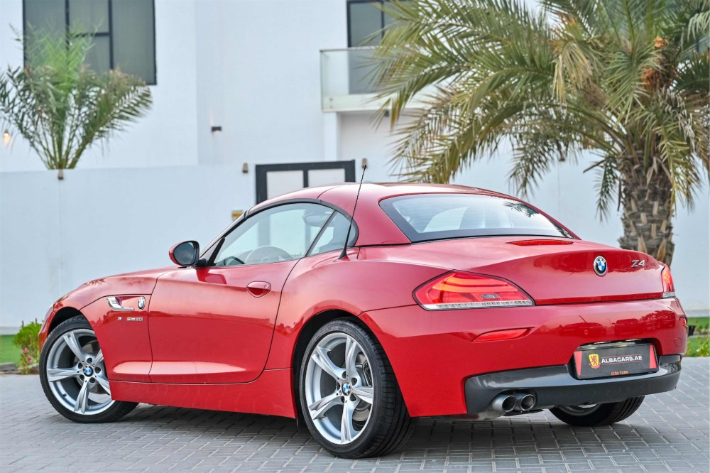 buy second hand BMW Z4 sDrive20i Convertible with warranty