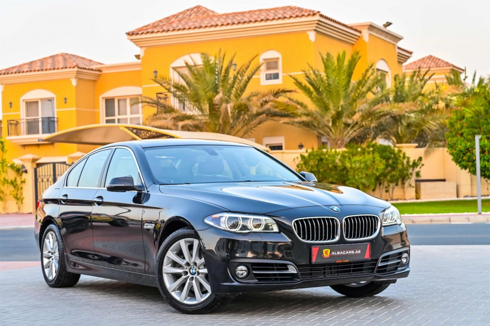buy approved BMW 528i Luxury Line in Dubai
