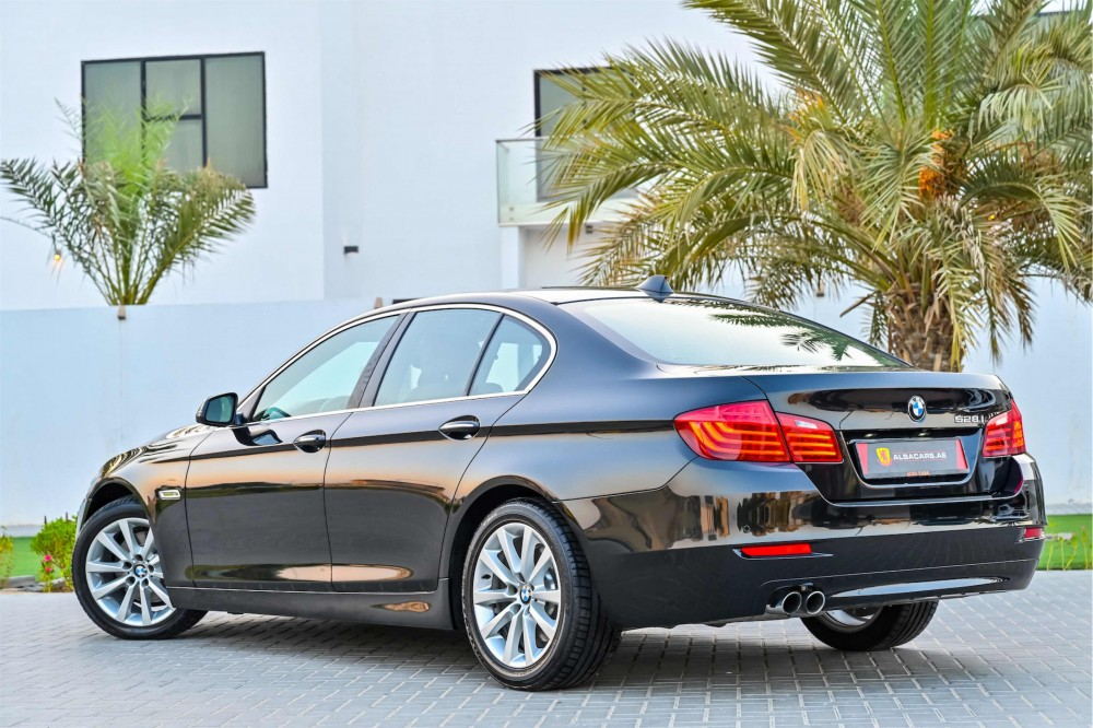 buy slightly used BMW 528i Luxury Line without downpayment
