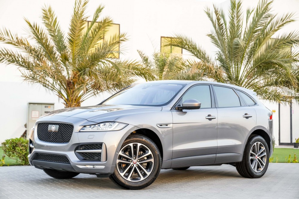 buy pre-owned Jaguar F-PACE R Sport Agency Warranty and Service Contract in Dubai