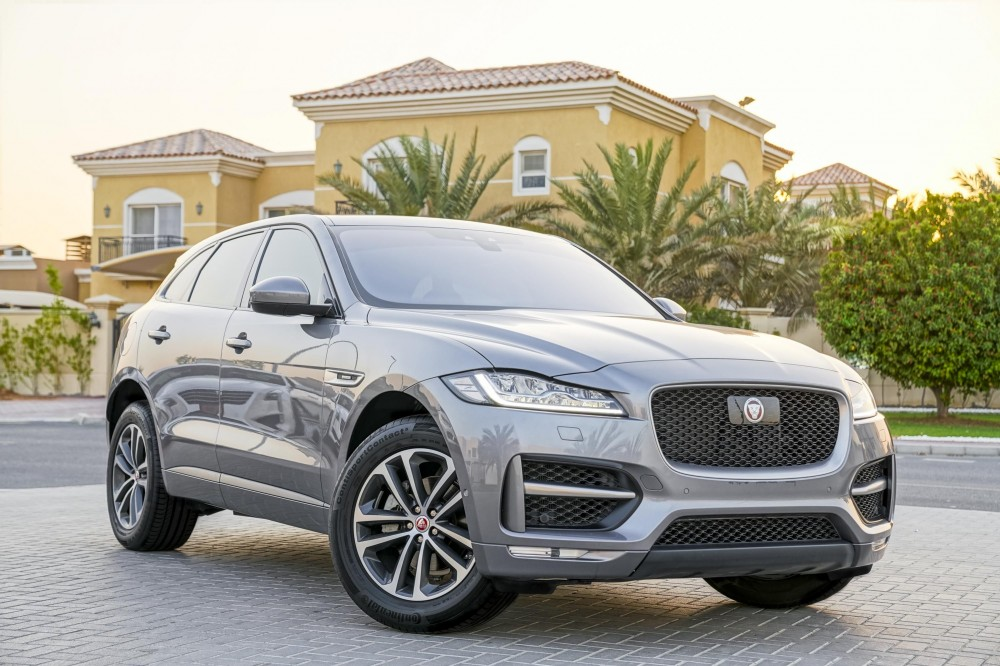 buy pre-owned Jaguar F-PACE R Sport Agency Warranty and Service Contract with warranty