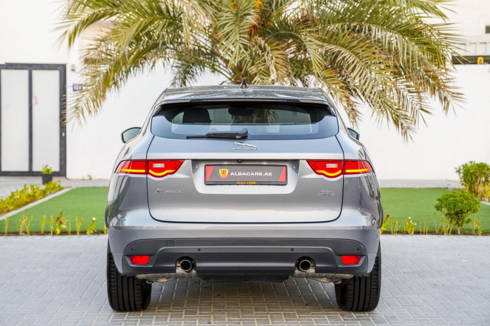 buy slightly used Jaguar F-PACE R Sport Agency Warranty and Service Contract in UAE