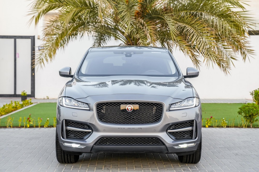 buy slightly used Jaguar F-PACE R Sport Agency Warranty and Service Contract with warranty