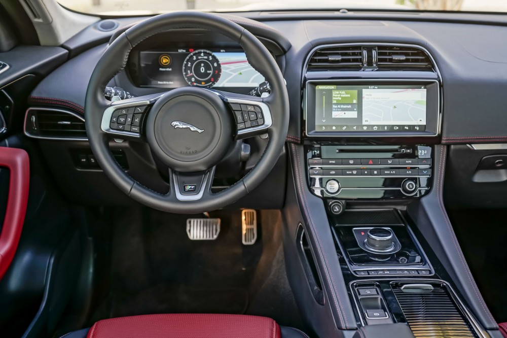 buy used Jaguar F-PACE R Sport Agency Warranty and Service Contract in UAE