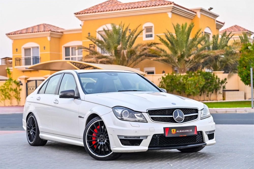 buy pre-owned Mercedes C63 AMG with warranty