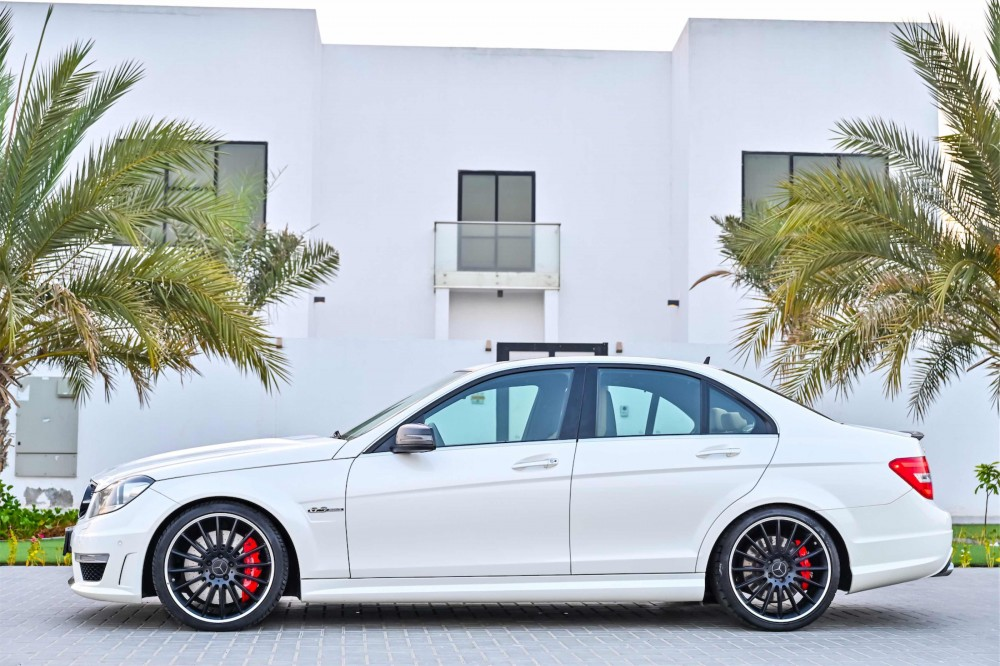 buy used Mercedes C63 AMG without downpayment