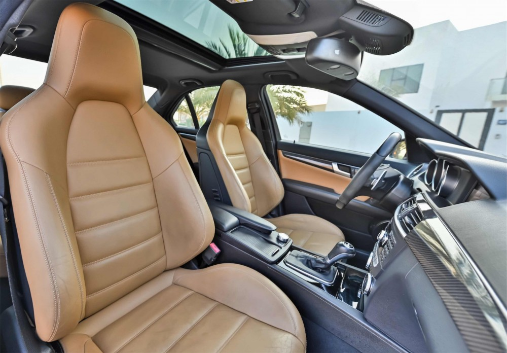 buy certified Mercedes C63 AMG with warranty