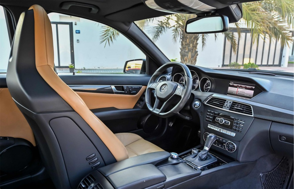 buy approved Mercedes C63 AMG in Dubai