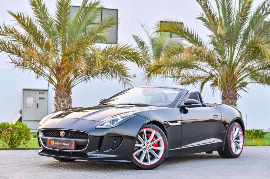 Jaguar F-Type V6 Convertible