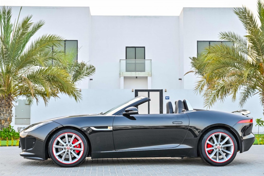 buy used Jaguar F-Type V6 Convertible with warranty