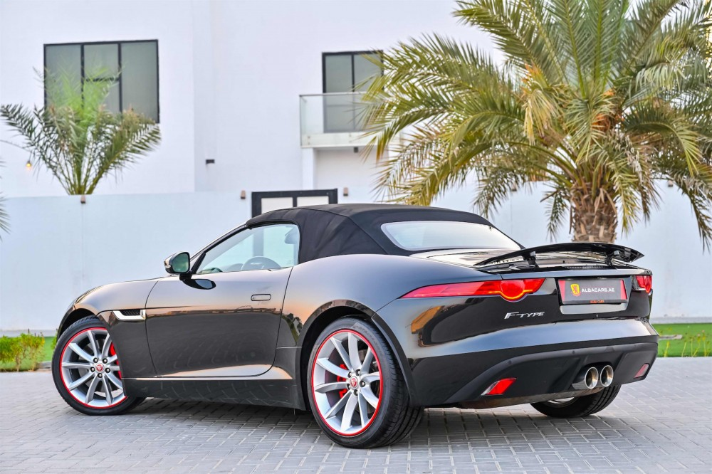 buy second hand Jaguar F-Type V6 Convertible with warranty