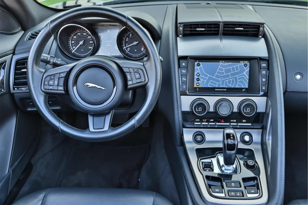 buy slightly used Jaguar F-Type V6 Convertible without downpayment