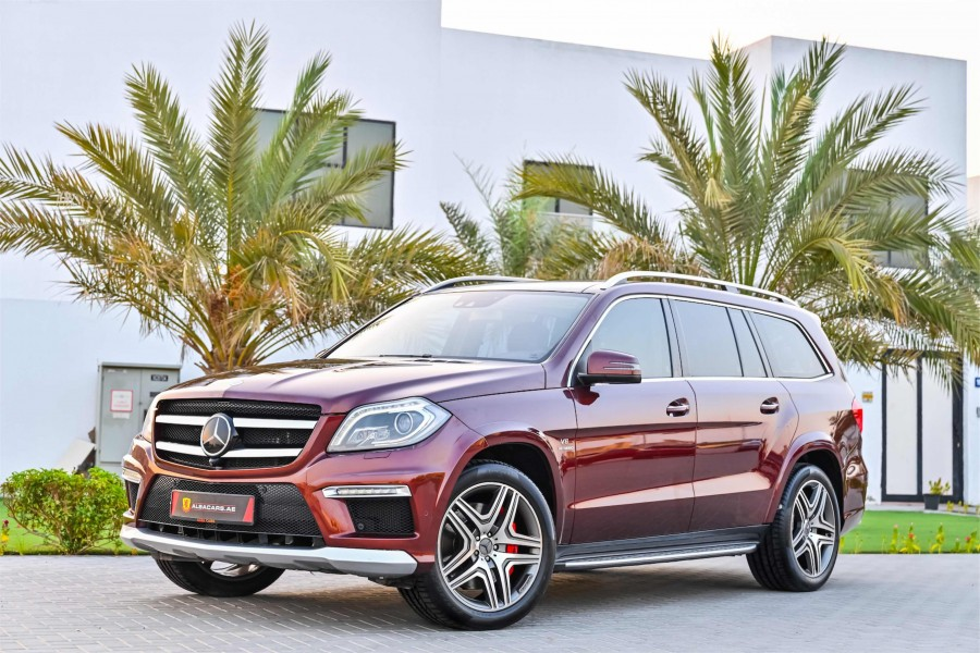 Mercedes GL63 AMG V8 Bi Turbo