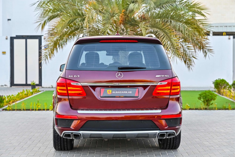 buy pre-owned Mercedes GL63 AMG V8 Bi Turbo without downpayment