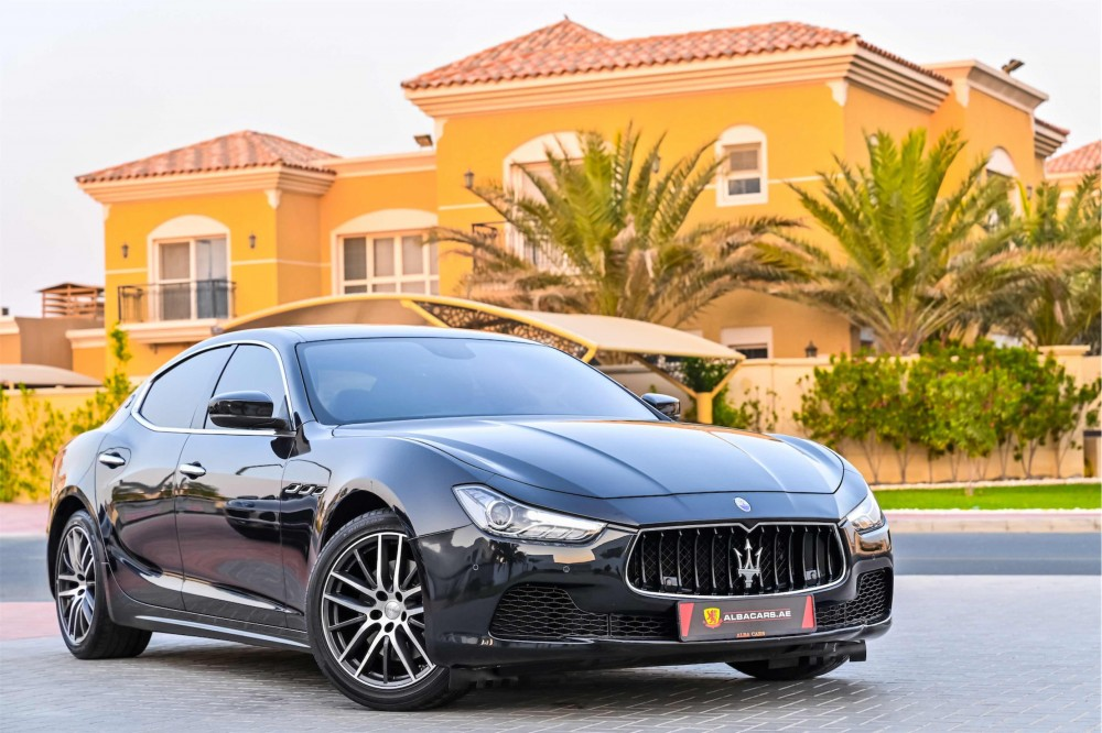 buy approved Maserati Ghibli without downpayment