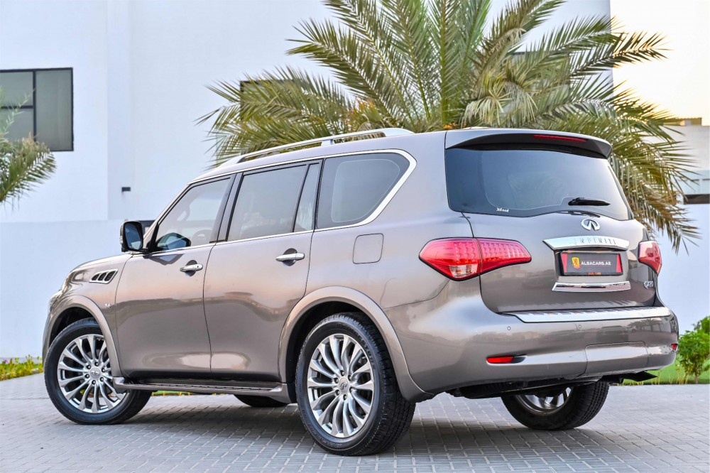 buy pre-owned Infiniti QX80 5.6L V8 without downpayment