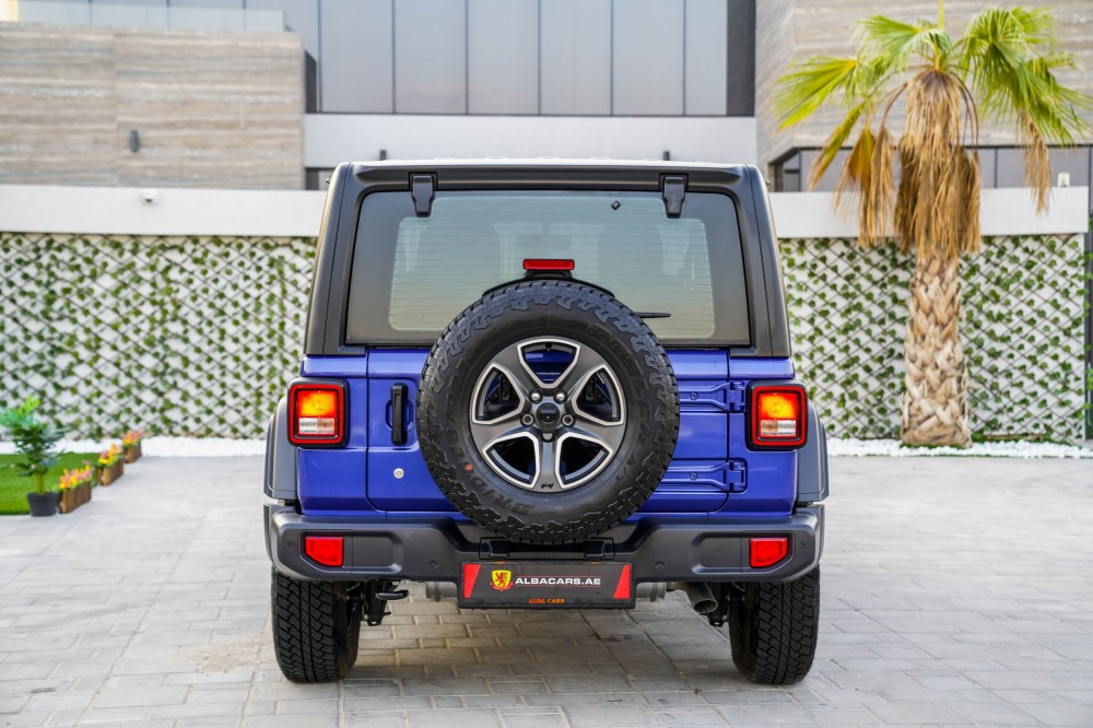 buy used Jeep Wrangler Sport S without downpayment