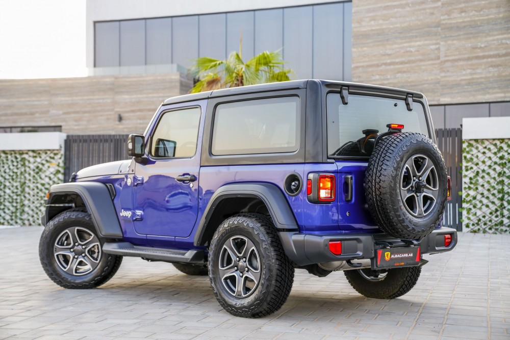 buy approved Jeep Wrangler Sport S without downpayment
