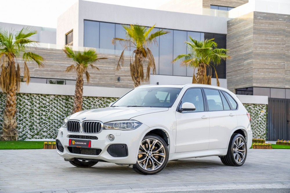 buy second hand BMW X5 50i V8 M-Kit 7 Seats in Dubai