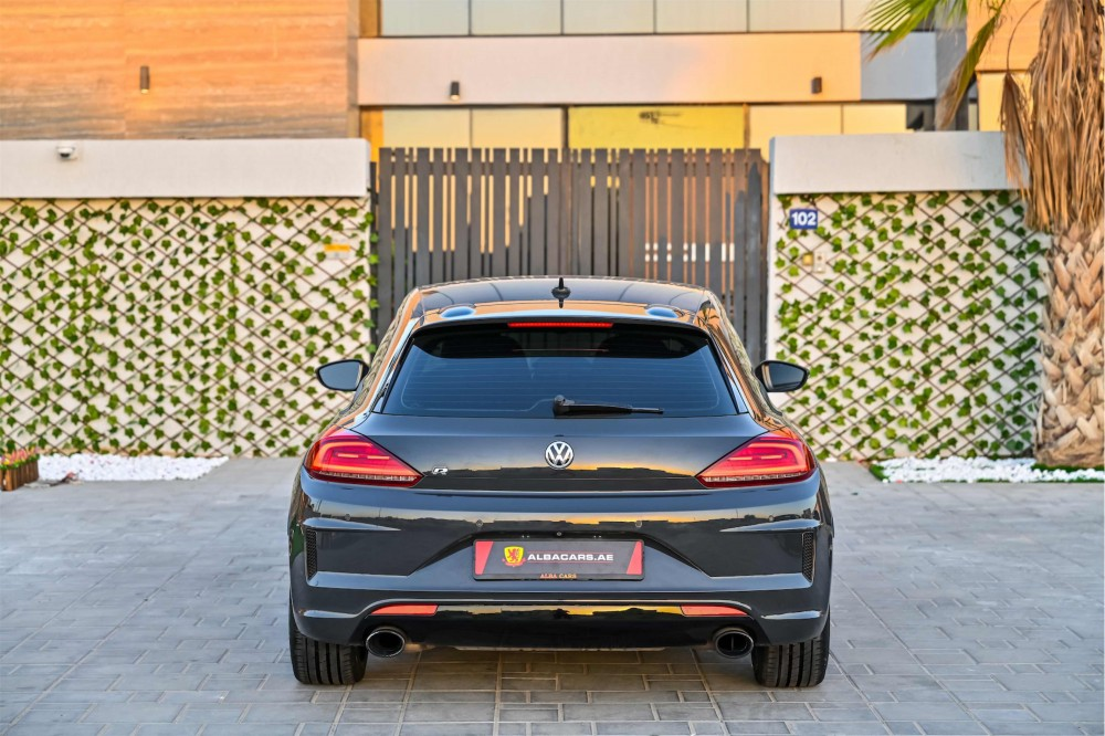 buy slightly used Volkswagen Scirocco R without downpayment