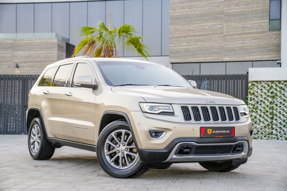 buy second hand Jeep Grand Cherokee Limited V8 without downpayment