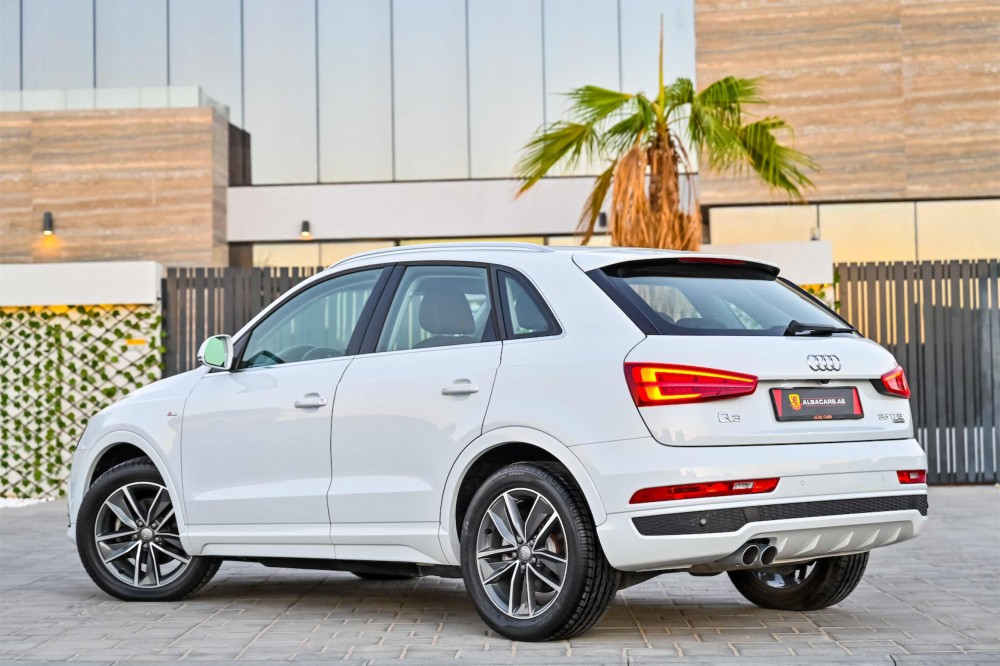 buy pre-owned Audi Q3 35TFSI Quattro S-Line with warranty