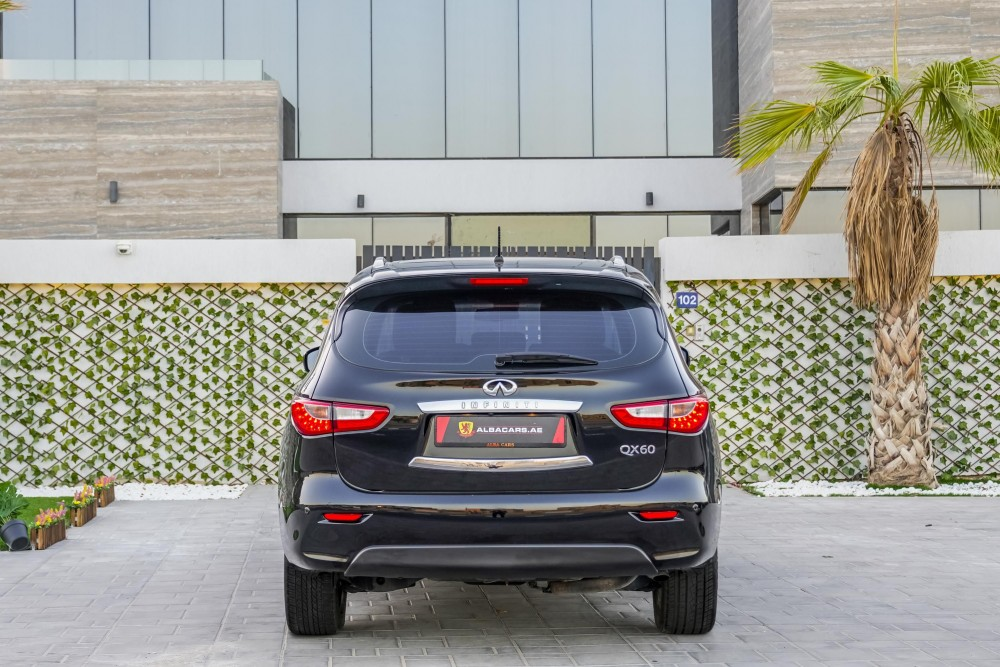 buy approved Infiniti QX60 with warranty