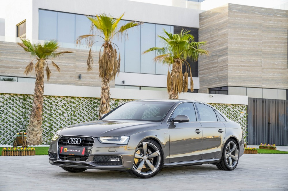 buy second hand Audi A4 S-Line 2.0L in Dubai