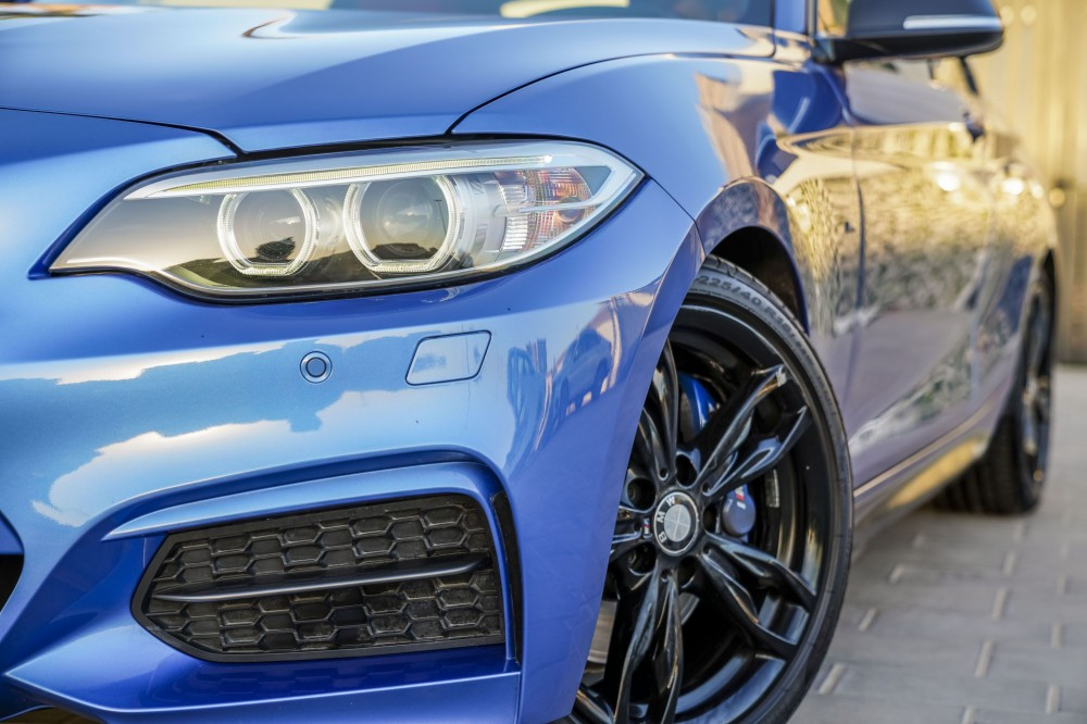 buy slightly used BMW M235i without downpayment