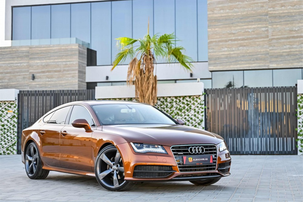 buy second hand Audi A7 V6 S-Line in UAE