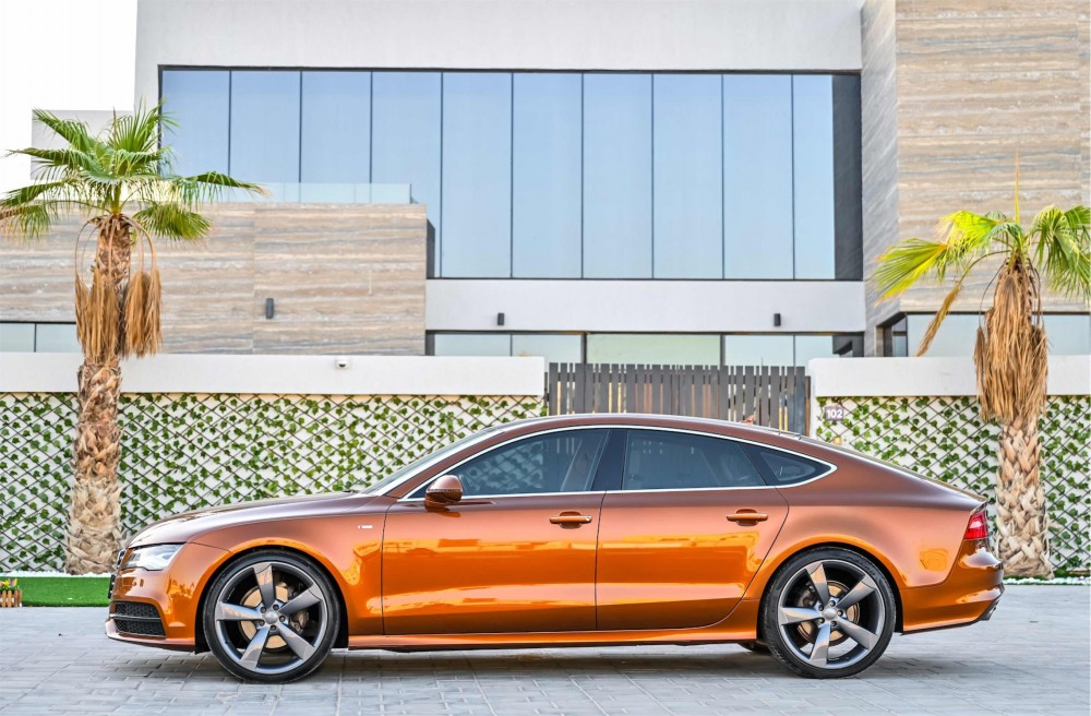 buy second hand Audi A7 V6 S-Line with warranty